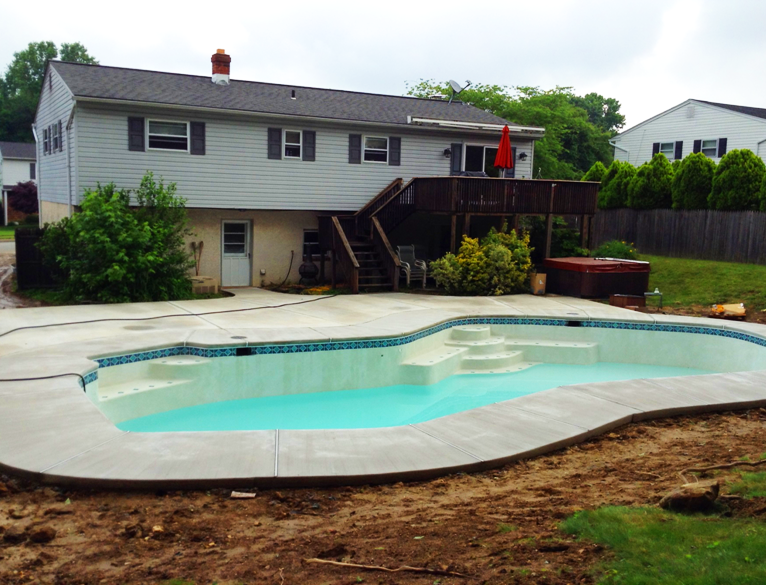 New pool Completed